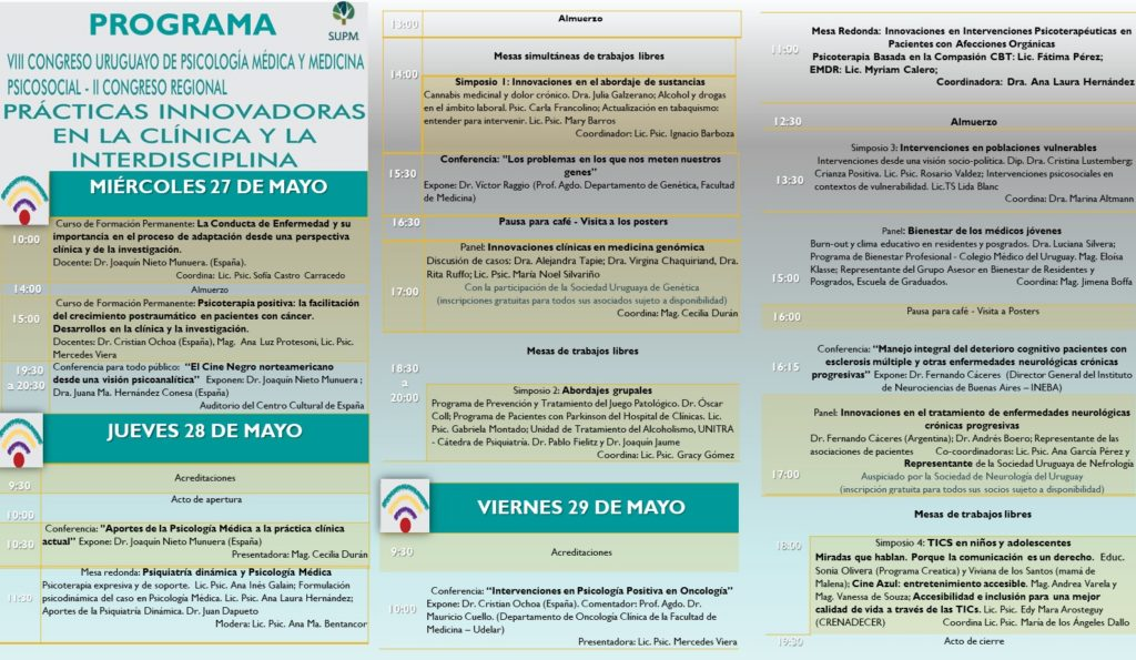 Programa Preliminar VIII Congreso